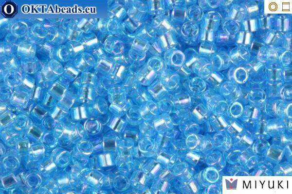 MIYUKI Beads Delica Transparent Light Sapphire AB 11/0 (DB176)