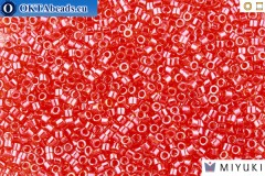 MIYUKI Beads Delica Transparent Light Siam Luster 11/0 (DB98)