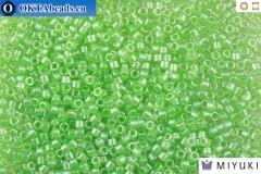 MIYUKI Beads Delica Transparent Mint Luster 11/0 (DB1483)