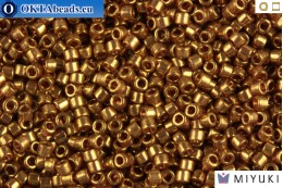 MIYUKI Beads Delica Transparent Rose Gold Luster 11/0 (DB115) DB115