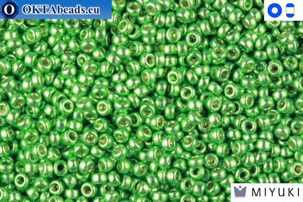 MIYUKI Beads Duracoat Galvanized Dark Mint Green 15/0 (4214)