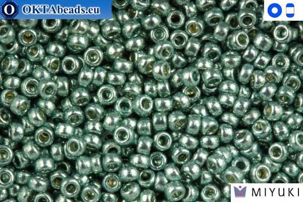 MIYUKI Beads Duracoat Galvanized Dark Seafoam (4216) 15/0 15MR4216
