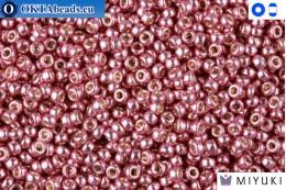 MIYUKI Beads Duracoat Galvanized Dusty Orchid 15/0 (4218)