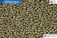 MIYUKI Beads DURACOAT Galvanized Light Smoky Pewter 11/0 (4221)