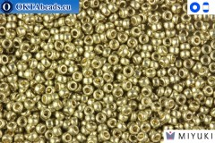 MIYUKI Beads Duracoat Galvanized Light Smoky Pewter 15/0 (4221)