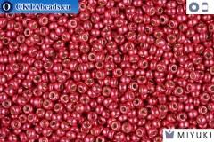 MIYUKI Beads DURACOAT Galvanized Lt Cranberry 11/0 (4211)