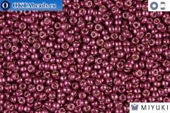 MIYUKI Beads DURACOAT Galvanized Magenta 11/0 (4219)