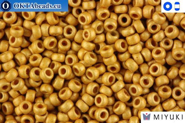 MIYUKI Beads Duracoat Galvanized Matte Gold (4202F) 15/0 15MR4202F