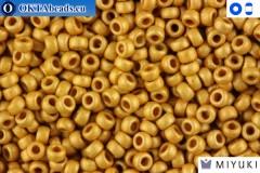 MIYUKI Beads Duracoat Galvanized Matte Gold (4202F) 15/0