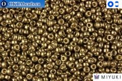 MIYUKI Beads Duracoat Galvanized Pewter 15/0 (4222)