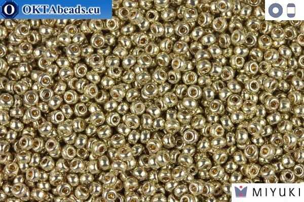 MIYUKI Beads DURACOAT Galvanized Silver 11/0 (4201) 11MR4201
