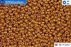 MIYUKI Beads Duracoat Galvanized Yellow Gold 15/0 (4203)