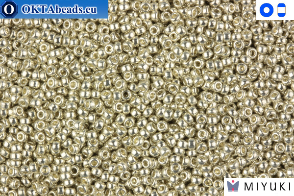 MIYUKI Beads Galvanized Silver 15/0 (181)