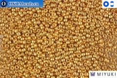 MIYUKI Beads Galvanized Yellow Gold 15/0 (1053)