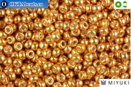 MIYUKI Beads Galvanized Yellow Gold 8/0 (1053) 8MR1053