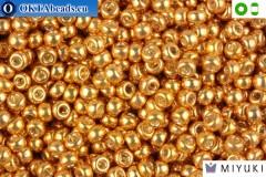 MIYUKI Beads Galvanized Yellow Gold 8/0 (1053) 8MR1053