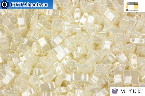 MIYUKI Beads Half TILA Antik Ivory Pearl Ceylon (592) Htim592