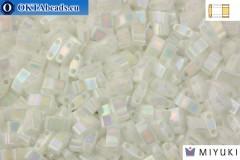 MIYUKI Beads Half TILA Pearl White Opaque (471)
