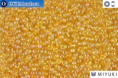 MIYUKI Beads Light Gold Crystal AB 11/0 (251)