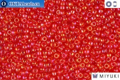 MIYUKI Beads Light Red AB 11/0 (254L)