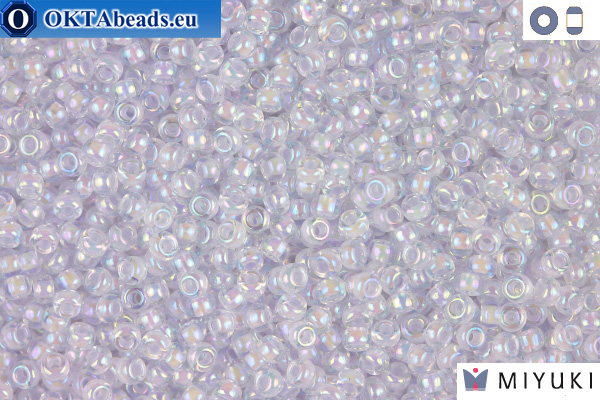 MIYUKI Beads Lined Lavender AB 11/0 (2211) 11MR2211