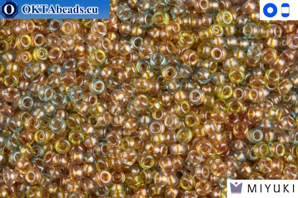 MIYUKI Beads Lined Mix Gold Beige Aqua 15/0 (3051)
