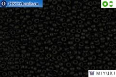MIYUKI Beads Matte Black (401F) 8/0 8MR401F