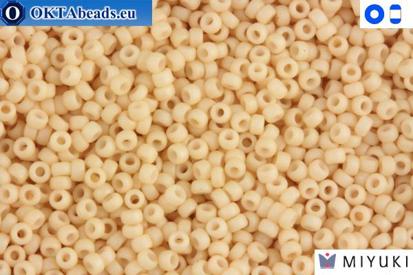 MIYUKI Beads Matte Dark Cream 15/0 (2022)