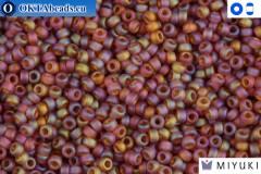 MIYUKI Beads Matte Light Brown AB 15/0 (134FR)