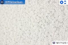 MIYUKI Beads Matte White 15/0 (402F)