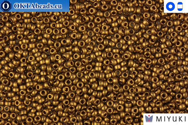 MIYUKI Beads Metallic Light Bronze 15/0 (457L) 15MR457L