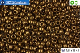 MIYUKI Beads Metallic Light Bronze 8/0 (457L) 8MR457L