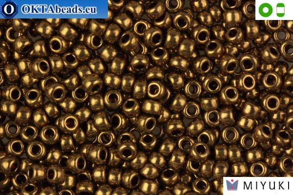 MIYUKI Beads Metallic Light Bronze 8/0 (457L)