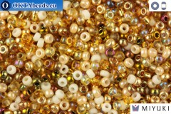 MIYUKI Beads Mix Honey Butter 11/0 (mix22) 11MRmix22