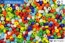 MIYUKI Beads Mix Opaque Rainbow 11/0 (mix37) 11MRmix37