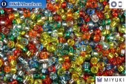 MIYUKI Beads Mix Silver Lined Rainbow 11/0 (mix38) 11MRmix38