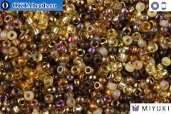 MIYUKI Beads Mix Wheatberry 11/0 (mix04)