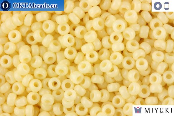 MIYUKI Beads Opaque Cream (492) 11/0 11MR492