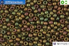MIYUKI Beads Opaque Khaki AB 8/0 (2035) 8MR2035