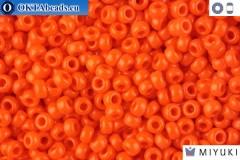 MIYUKI Beads Opaque Orange (406) 11/0