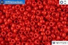 MIYUKI Beads Opaque Red (408) 11/0