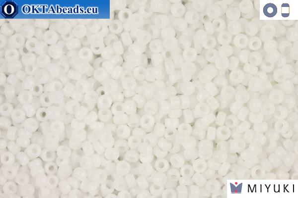 MIYUKI Beads Opaque White 11/0 (402) 11MR402