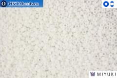 MIYUKI Beads Opaque White 15/0 (402)