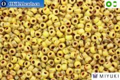 MIYUKI Beads Picasso Canary Yellow Matte (4512) 8/0