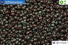 MIYUKI Beads Picasso Garnet Transparent (4504) 8/0