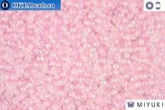 MIYUKI Beads Pink Lined Crystal AB 11/0 (272)