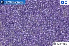 MIYUKI Beads Purple Lined Crystal 15/0 (1531)