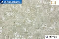 MIYUKI Beads Quarter TILA White Opaque Luster (420)