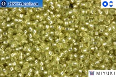 MIYUKI Beads Semi-Matte Silver-Lined Jonquil 15/0 (1631)