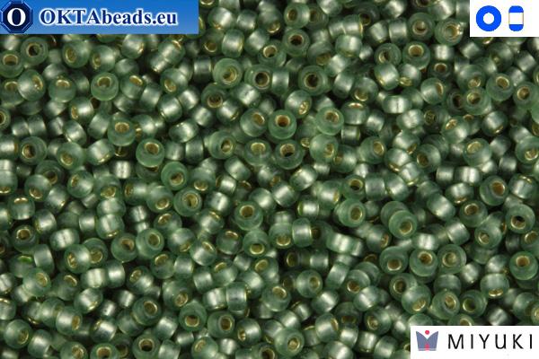 MIYUKI Beads Semi Matte Silver-Lined Light Green 15/0 (1630)